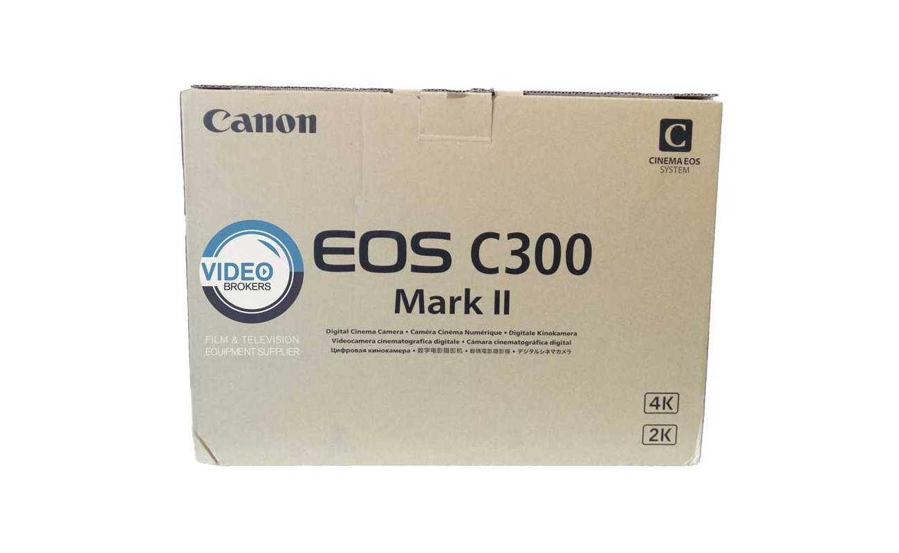 EOS C300 Mark II Canon Used - 4K-Full HD camera