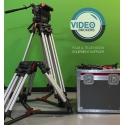 Oconnor 2575D - Fluid head with CINE HD 150 mm Sachtler tripod