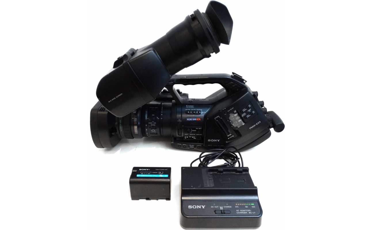 sony pmw ex3 used xdcam camcorder serviced rh videobrokers com Sony EX3 Review Sony EX3 Costs