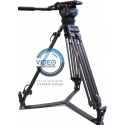 Sachtler - Video 20p - Full system sachtler with fluid head + tripod
