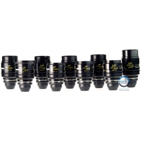 Cooke - Mini S4/i - Cine lens set 18|25|32|40|50|75|100|135 mm