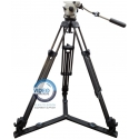 Vinten Vision 100 - ENG system with fluid head and carbon tripod