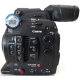 Canon C300 Mark ii used - Super 35 4K cinema camera, left side view