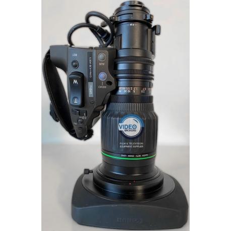 "Canon CJ14ex4.3B IASE S - 2/3"" 4K Broadcast zoom lens"
