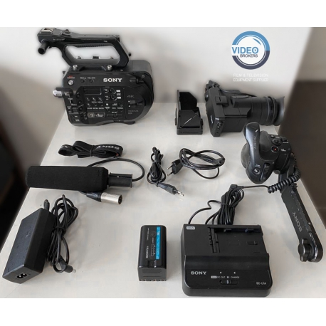 Sony PXW-FS7 Mark II used with original accessories