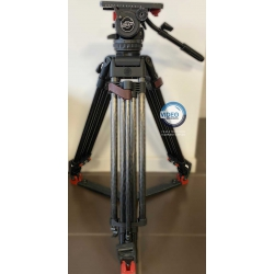 Sachtler System 20 S1 HD CF - Video 20 fluid head with heavy-duty carbon fiber tripod