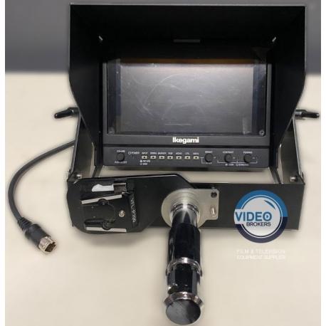 "Ikegami VFL-P700 Ex-Demo - 7"" LCD HD color studio viewfinder for HDK cameras"