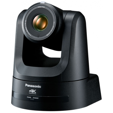Panasonic AW-UE100K - Black 4K/60p PTZ camera with 24x lens and NDI 12G-SDI, HDMI