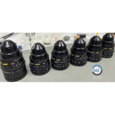 Arri Ultra Prime Lenses set 16, 24, 32, 50, 85, 135 mm - PL metric lenses