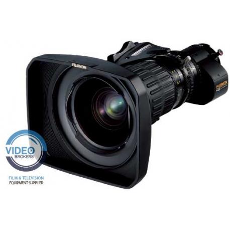 "Fujinon UA14x4.5BERD - 4K wide-angle broadcast zoom lens 2/3"" with servo zoom and doubler"
