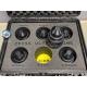 Arri Ultra Prime Lenses set 16, 24, 32, 50, 85, 135 mm in open flight case