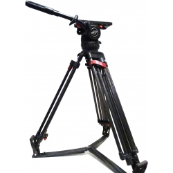 Sachtler Video 18 S1 - Fluid head with Sachtler tripod ENG 2 CF