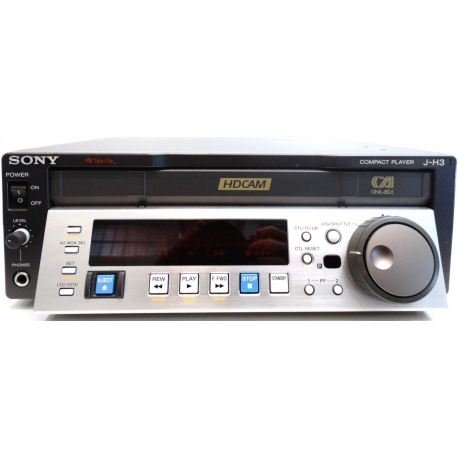 Sony J-H3 - HDCAM compact player in used condition