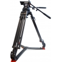 Sachtler Video 25 plus - Fluid head with ENG carbon tripod