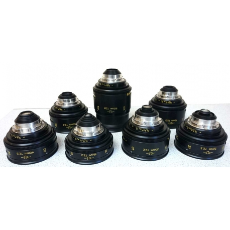 Cooke - Speed Panchro Set Serie 2 & 3 TLS
