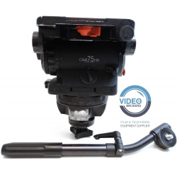 Sachtler - Cine 75 HD - Cine style fluid head up to 75 Kg
