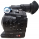 Canon EOS C300 EF Mark used - Left view